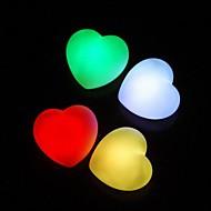 faveurs de décoration de mariage conduit cardiaques (jeu de 4 dans des couleurs assorties)