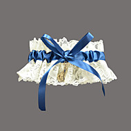 Lovely Lace/Satin With Rhinestone Wedding Garter