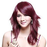 Capless Medium High Quality Synthetic Straight Wig