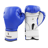 lederen volledige vinger professionele bokshandschoenen (gemiddelde grootte)
