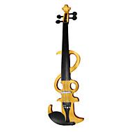 Chow - (EV09) 4/4 tilleul tenue violon électrique (multicolore)
