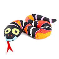 Katzen Haustierspielsachen Katzenminze Schlange Schwarz Gewebe