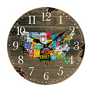 american country nástěnné hodiny