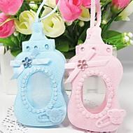 Sacoches à cadeaux Faveurs et cadeaux de fête Baby shower Thème classique Non personnalisé Tissu non tissé Rose/Bleu 12Pièce/Set