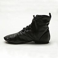 Real Leather Upper Jazz Dance Shoes