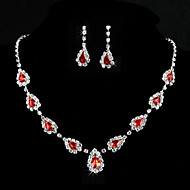 Women's Alloy/Rhinestone Jewelry Set