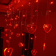 8Mx1M Red Love LED String Light with 312 LEDs