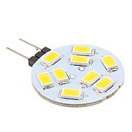 G4 1.5W 9x5630smd 150LM 2700k blanc chaud Ampoule LED spot (12v)