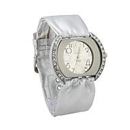 Quartz Dames Glas Ronde Vorm Dress horloge