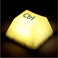 Creative Fashion Touch Door het indrukken van LED Light Desk Night Lamp (3xAA/USB)