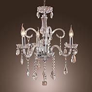 moddern candelabru de cristal cu 3 lumini