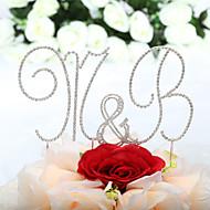 Buchstabe & Nummer / Kuchenschmuck ( Silber , Chrom ) - Nicht-personalisierte - Hochzeit / Jubliläum