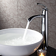 Sprinkle® Sink Faucets  ,  Countertop  with  Chrome Single Handle One Hole  ,  Feature  for Centerset