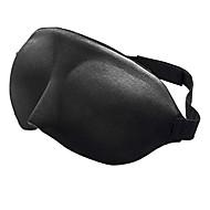 1 Pça. Máscara de Dormir Respirabilidade Portátil Confortável Ajustável para Descanso em Viagens Esponja