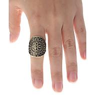 Vintage Style Engraving Earl Ring