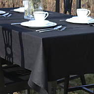 Solid Color Linen Table Cloth
