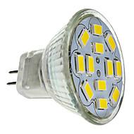 GU4 6 W 12 SMD 5730 570 LM Warm White MR11 Spot Lights DC 12 V
