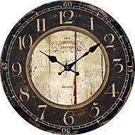 país euro relógio de parede do vintage