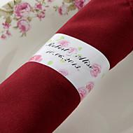 Rond de serviette papier personnalisé