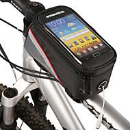 ROSWHEEL® Bike BagFahrradrahmentasche / Handy-TascheWasserdichter Verschluß / Eingebaute Kesseltasche / Staubdicht / Touchscreen /