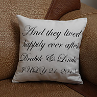 Gifts Bridesmaid Gift Personalized Four Lines Pillow Case (Pillow not included)