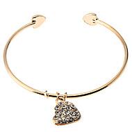 Women's Cuff/Charm Bracelet Alloy