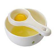tuorlo d'uovo e separatore albume