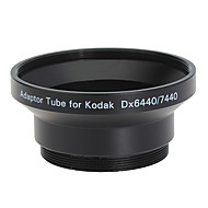 עדשת 52mm וTube מתאם מסנן לקודאק DX6440/DX7440 השחור