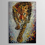 Handgemalte Tier Ein Panel Leinwand Hang-Ölgemälde For Haus Dekoration