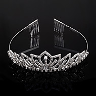 Headpieces Clear Crystals Wedding Bridal Tiara