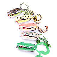 1 pcs Soft Bait / Fishing Lures Soft Bait / Frog Green / Orange / Yellow g Ounce mm inch,Soft Plastic Sea Fishing / Freshwater Fishing