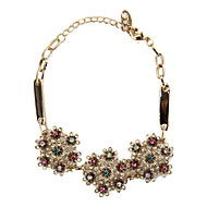 Women's Fashion Bracelet 18K Gold Plated Rhinestone