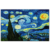 Starry Night c1889 by Vincent Van Gogh Famous Art Print