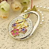 Pretty Flower Bolso Favor Valet con diamantes de imitación