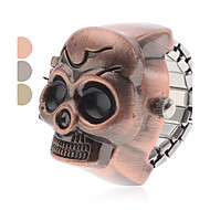 Unisex Black Eyes Skull Style Alloy Analog Quartz Ring Watch (Assorted Colors) Cool Watches Unique Watches