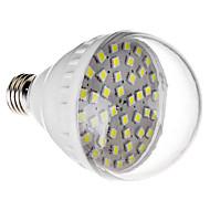 E27 7W 42x5050SMD 470-520LM 6000-6500K Cool White Light LED Bulb (220V)