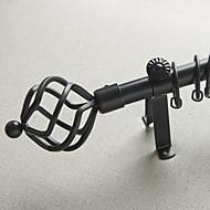 Cast-Iron Twist Finial Drape Rod