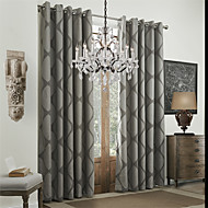 Twee panelen Window Behandeling Rococo Eetkamer Polyester Materiaal Curtains Drapes Huisdecoratie For Venster