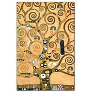 Frieze II por Gustav Klimt Impressão artística Famous