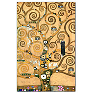 Friso II de Gustav Klimt famoso Lámina