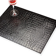 Ensemble de 4 Classic Conception PU Placemats