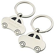Personalizado lindo anel chave do carro (conjunto de 6)