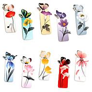 papel borboleta marcador em forma (cores aleatórias)