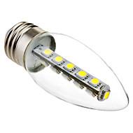 3W E26/E27 LED svíčky C35 16 SMD 5050 180 lm Chladná bílá Ozdobné AC 220-240 V