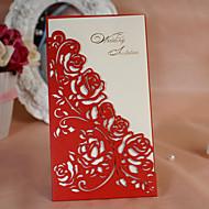 Hochzeits-Einladungen Hülle & Taschenformat Einladungskarten 50 Stück / Set