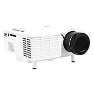 Mini LED Projector 400Lumen 320x240 with VGA USB SD HDMI
