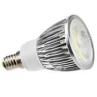 Spot Décorative/Gradable Blanc Naturel PAR E14 5 W 5 LED Haute Puissance 450 LM 6000K K AC 100-240 V
