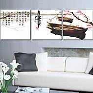 meian diy unfertige Baumwoll erinnern Jiangnan 11ct / inch Stich-Set mit 3 gestickten Tuch-Größe: 51 * 51cm * 3