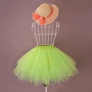 Summer Seaside Short Organza Sweet Lolita Petticoat/Skirt (Waist: 72cm, Length: 50cm)