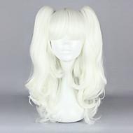 babydoll는 화이트 떠꺼머리 45cm 고딕 로리타 가발